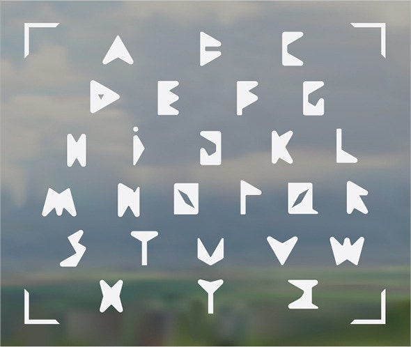 rounded corner font
