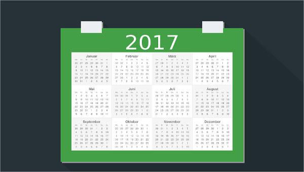 annual calendar templates2