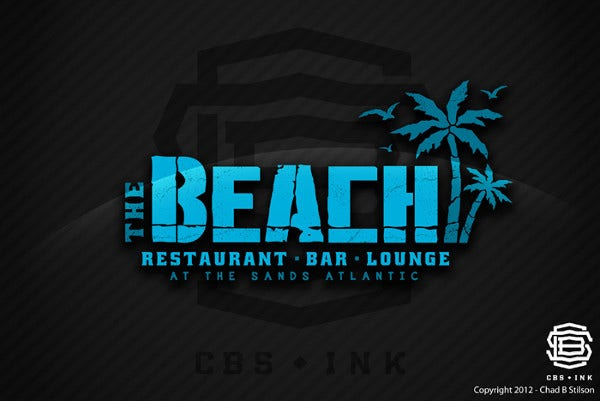 Free Download Beach Logo