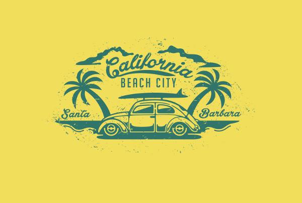 Free Beach Logo