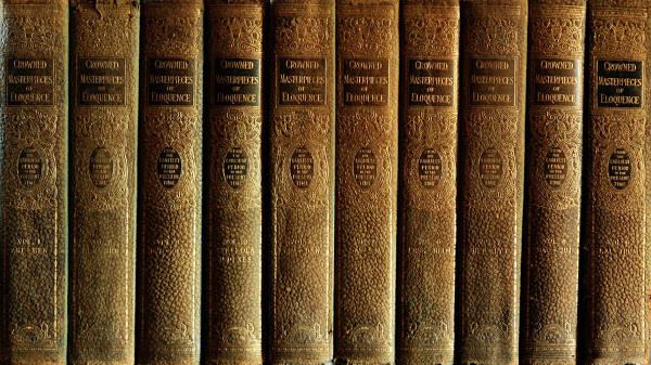 books pile texture