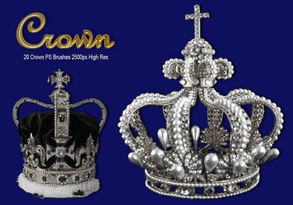 free-photoshop-crown-brushes