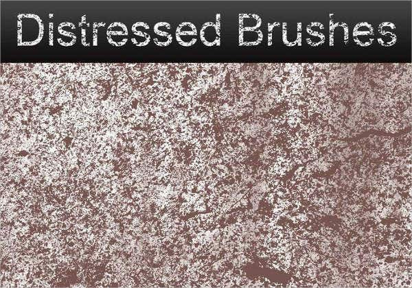 Distressed Wood Brushes