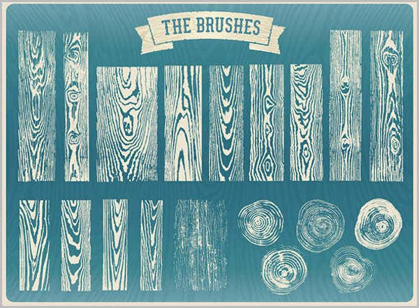 Wood Grain Brushes