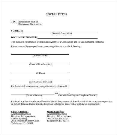 Transmittal Letter - 8+Free Word, Pdf Documents Download | Free