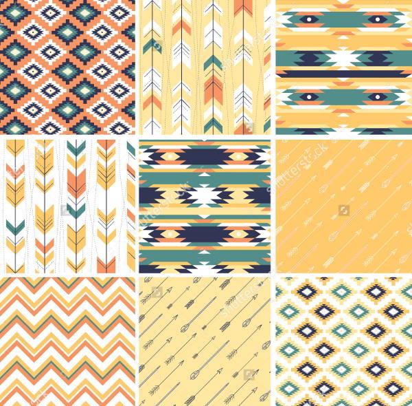 geometrical-aztec-pattern