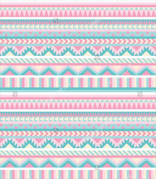 pastel-aztec-pattern