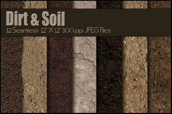dirt and soil texture