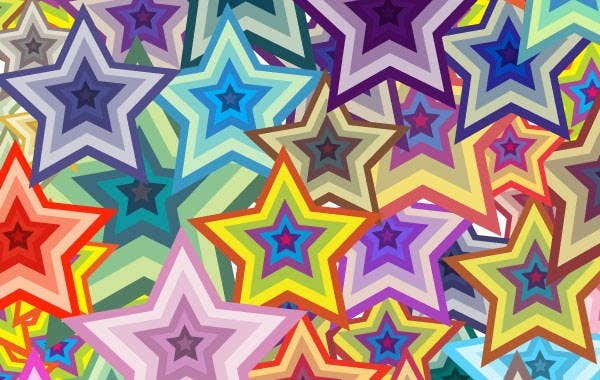 colorful-star-pattern