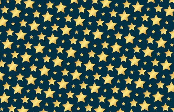 golden-star-pattern