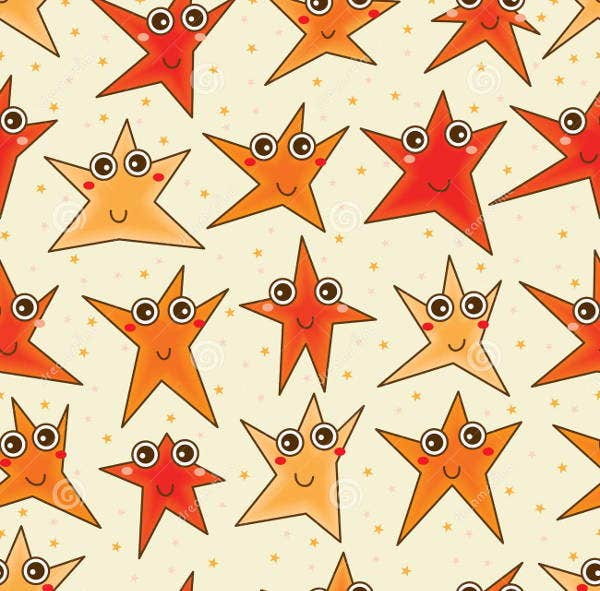 cartoon-star-pattern