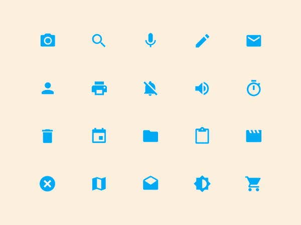 system material icons