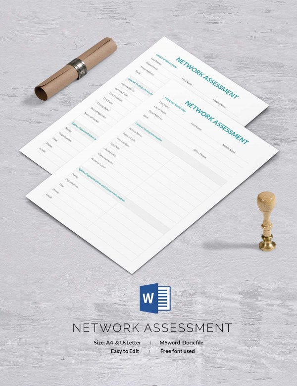 11+ Free Assessment Templates - It, Self, Risk, Skill | Free