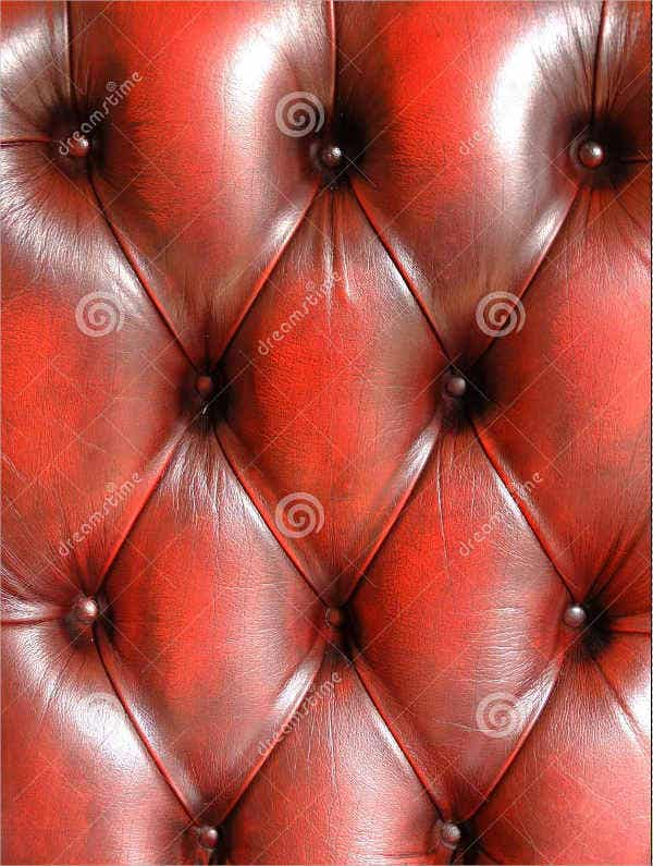 Red Tufted Leather Texture