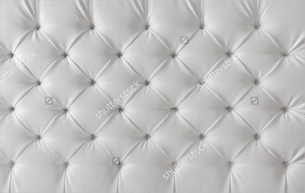 White Tufted Texture