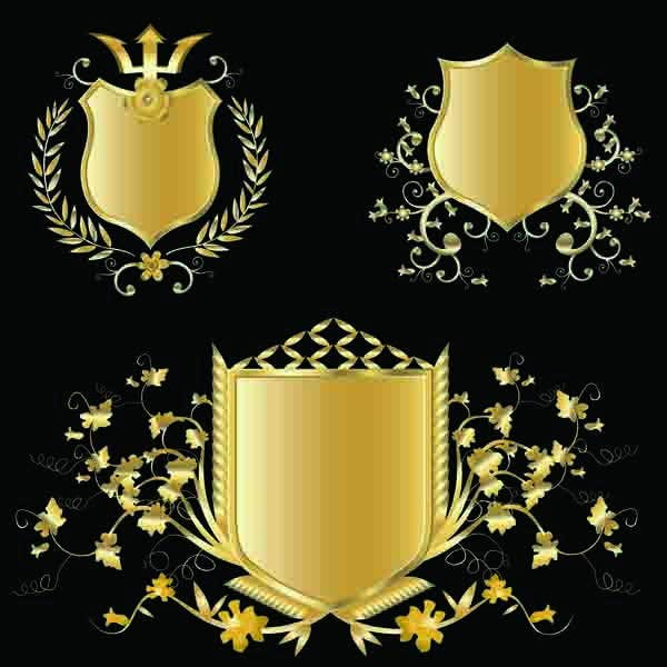 shield badge vector