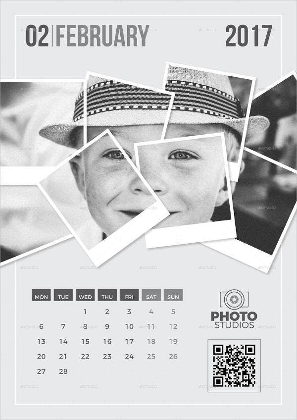 wall-photo-calendar-template