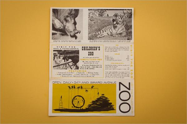 Vintage Zoo Brochure