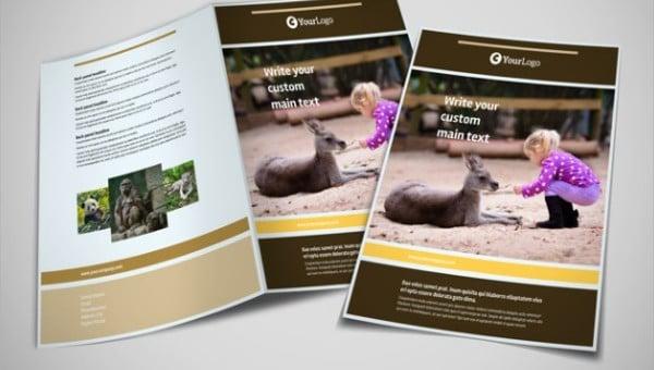 zoo brochures