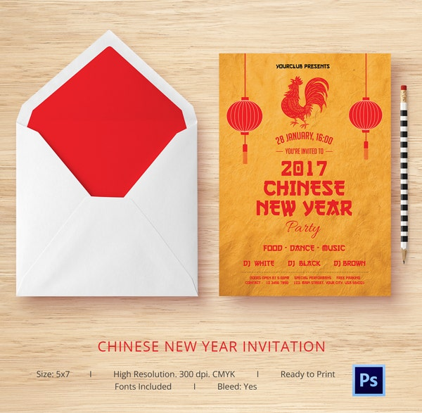 10 free chinese new year templates invitations flyers free premium templates. Black Bedroom Furniture Sets. Home Design Ideas