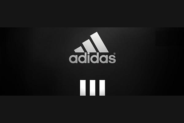 Adidas Black and White Logo
