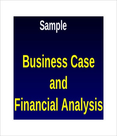 financial business case analysis template