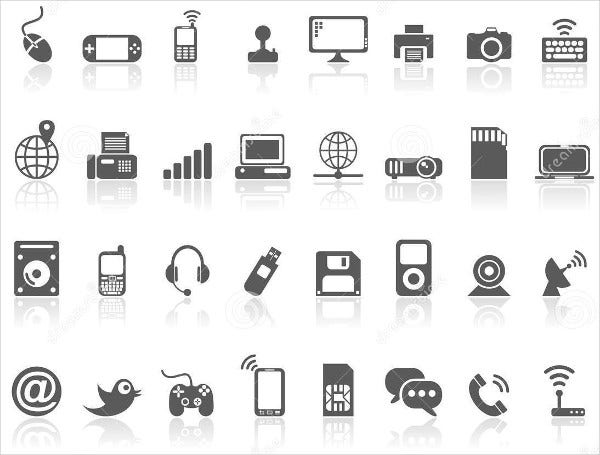 Modern Technology Icons