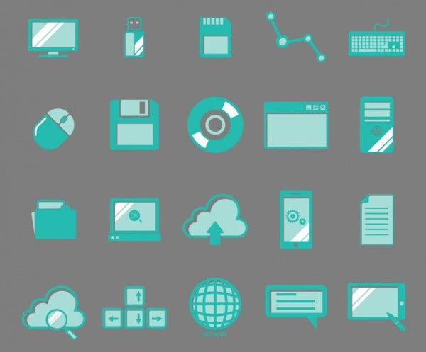 Free Download Technology Icons