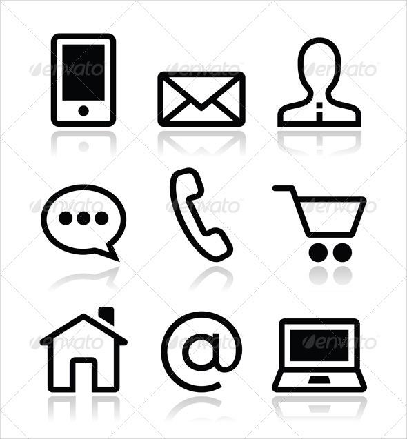 web-contact-icons