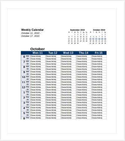 Excel Monthly Calendar September Calendar Editable This Calendar