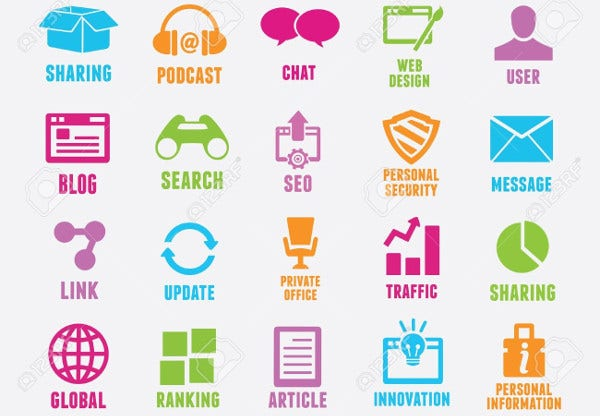 seo-and-internet-marketing-icons