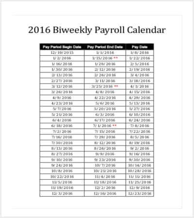 biweekly payroll calendar template min1
