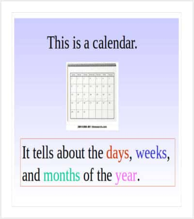 powerpoint monthly calendar template min
