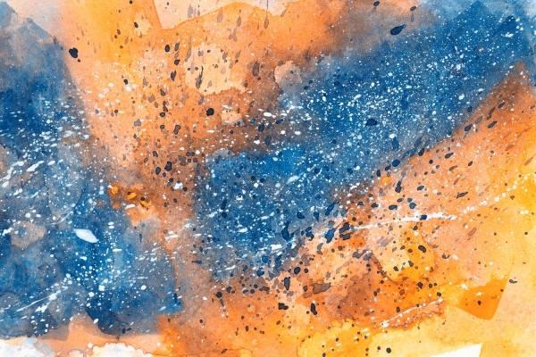 Grunge Acrylic Texture