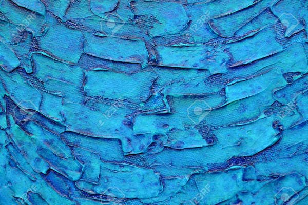 Blue Acrylic Texture