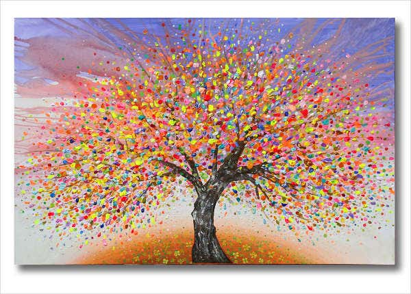 tree-canvas-painting