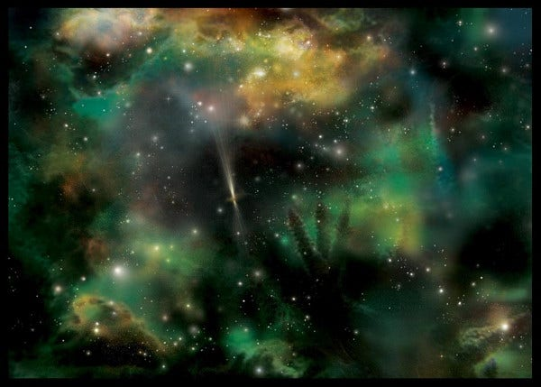 Galaxy Space Texture Free