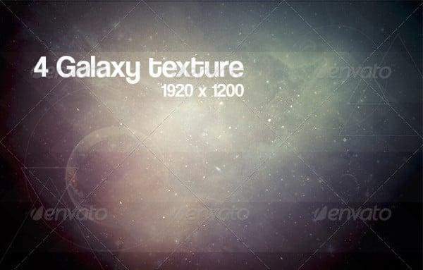 4 Galaxy Geometric Textures