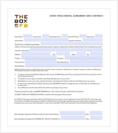 event planning contract template free pdf min