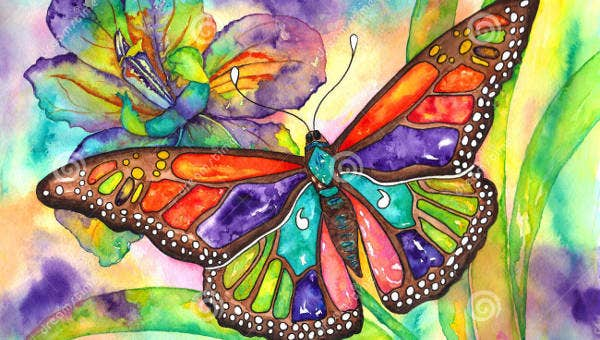 Image result for butterflies painting