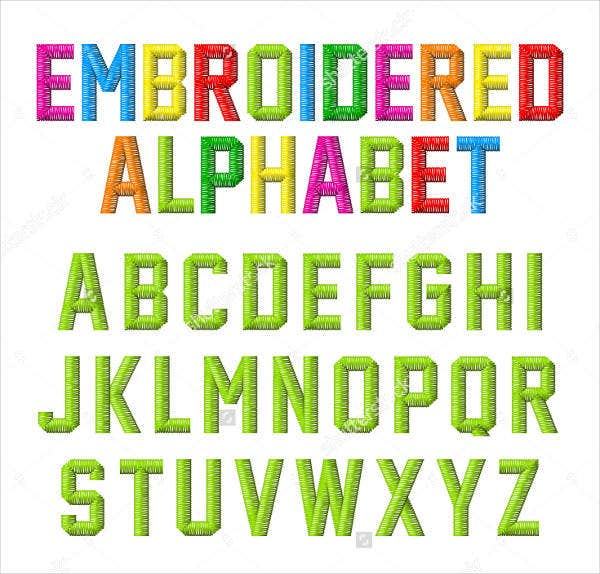 embroidery alphabet font2