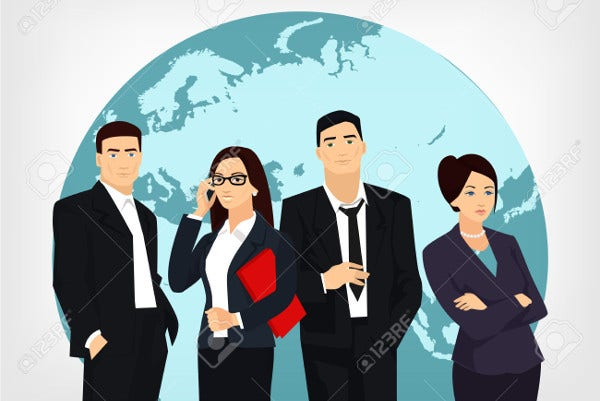 Business Team Vector