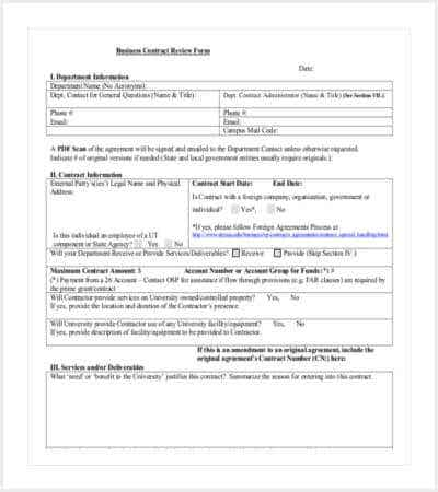 business contract review form pdf format min
