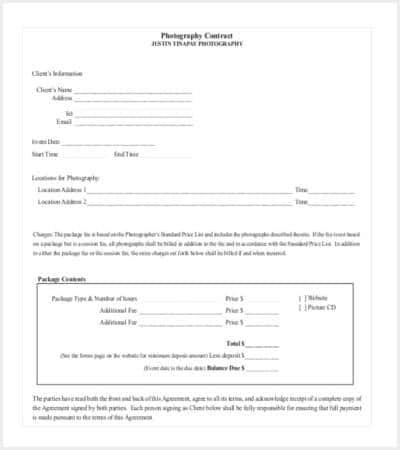 Contract Templates  Free  Premium Templates