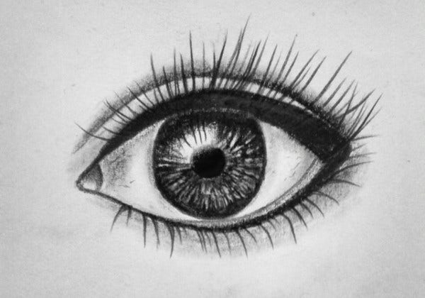 Sketch Drawing of Eye