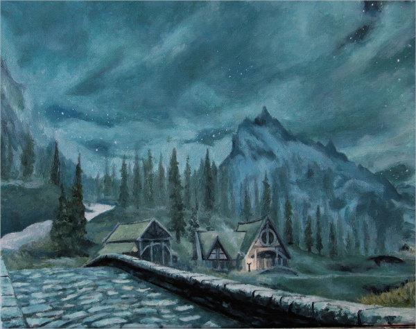 realistic-landscape-painting