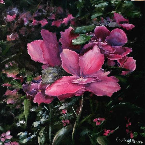 realistic-flower-painting