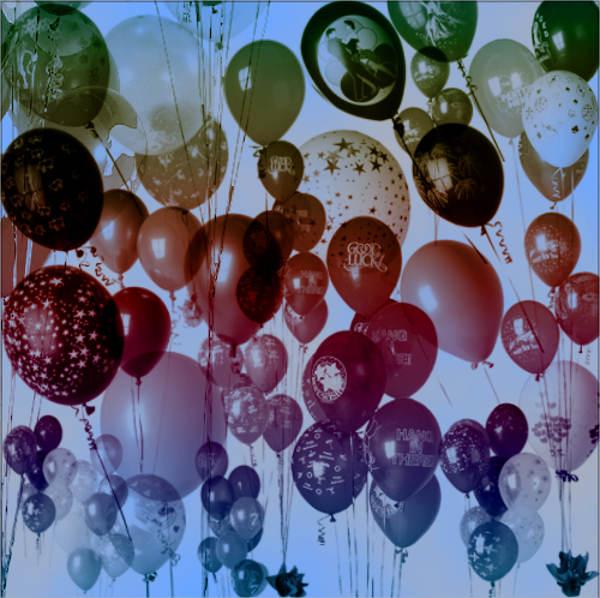 Birthday Balloon Brushes