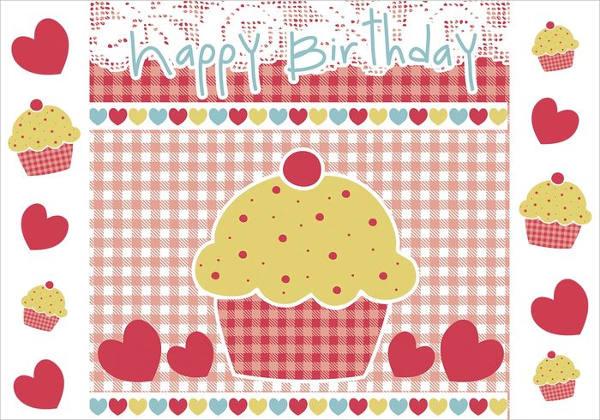 Birthday CupCake Brushes