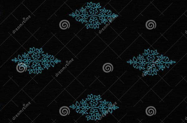 black-fabric-pattern